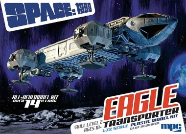 Faller Marken 590913 Space: 1999 14 Zoll Eagle Transporter