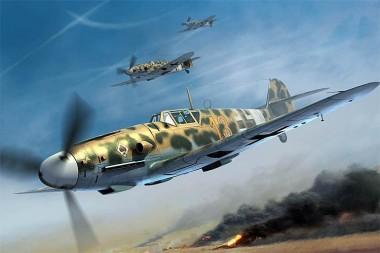 Trumpeter 752295 Me Bf 109 G2/Trop