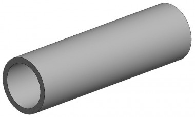 Evergreen 500223 Rundröhre, 35 cm lang, Ø2,4mm