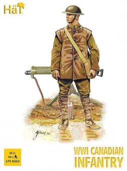 HäT - Hat Toy Soldiers 8111 Kanadische Infanterie WW2 Fig.