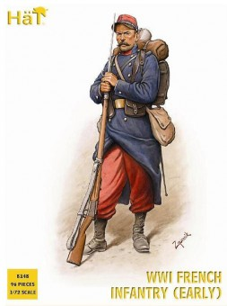 HäT - Hat Toy Soldiers 8148 WWI French Infantry (1914)