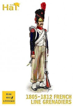 HäT - Hat Toy Soldiers 8166 French Line Grenadiers 1805-1812