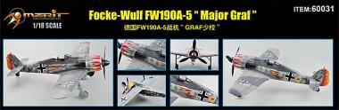 Merit 360031 Focke Wulf Fw 190A-5 Major Graf