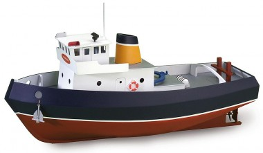 Artesania Latina 900530 Schlepper Samson - Build & Navi