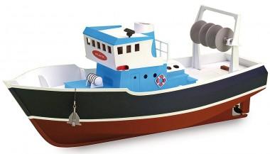 Artesania Latina 900531 Atlantik Fisch-Trawler - Build & Navi