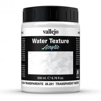 Vallejo 26201 Transparentes Wasser, 200 ml