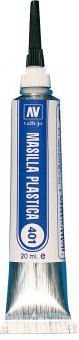 Vallejo 70401 Plastik-Spachtel, 20 ml  - Plastic Putty