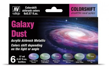 Vallejo 77092 Farb-Set, Galaxy Dust - Colorshift