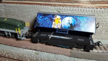 KFP-Zeller SRW-A Schienenreinigungswagen Aussenleiter