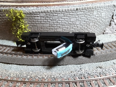 KFP-Zeller SRW-M Schienenreinigungswagen Mittelleiter