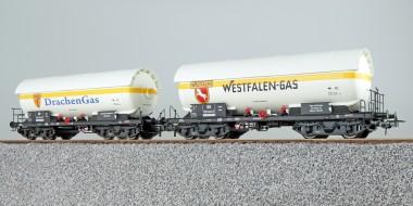 ESU 36530 DB Gaskesselwagen-Set 2-tlg Ep.3