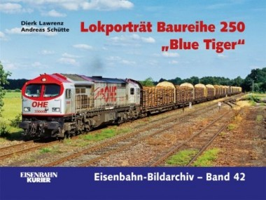 EK-Verlag 381 Lokporträt Baureihe 250 Blue Tiger
