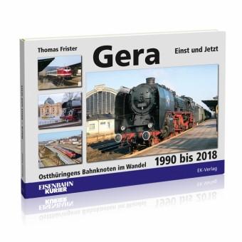 EK-Verlag 6232 Gera einst und jetzt