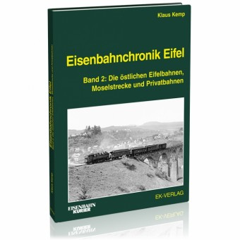 EK-Verlag 6421 Eisenbahnchronik Eifel - Band 2