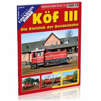 EK-Verlag 7027 Köf III- Die Kleinlok der Bundesbahn