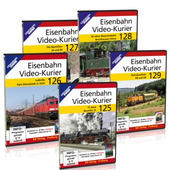 EK-Verlag 80198 DVD-Paket: Video-Kurier 125-129