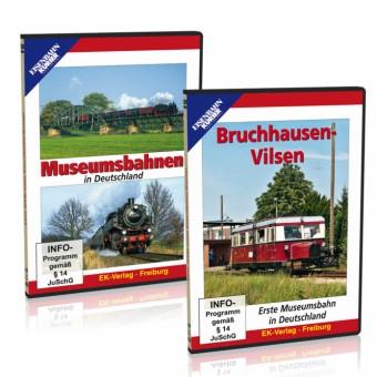 EK-Verlag 80199 Museumsbahnen im 2er Paket