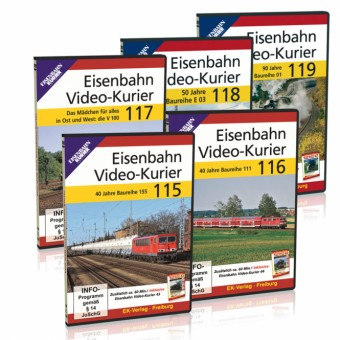 EK-Verlag 80202 Eisenbahn Video-Kurier 115-119