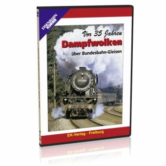 EK-Verlag 8133 Dampfwolken über Bundesbahn-Gleisen