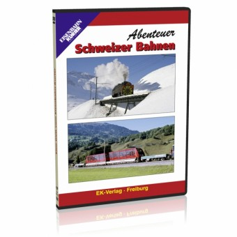 EK-Verlag 8152 Abenteuer Schweiz Bahnen