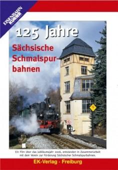 EK-Verlag 8159 125 Jahre sächsische Schmalspurbahnen