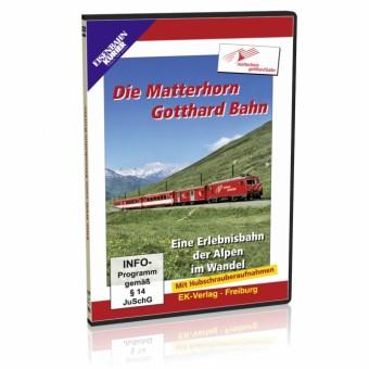 EK-Verlag 8169 Die Matterhorn Gotthard Bahn