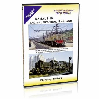 EK-Verlag 8192 Damals in Italien, Spanien, England
