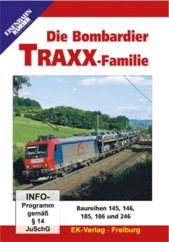 EK-Verlag 8219 Die Bombardier Traxx-Familie