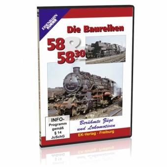 EK-Verlag 8238 Die Baureihe 58 und 58.30