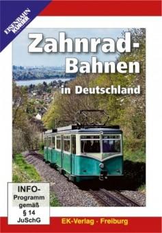 EK-Verlag 8251 Zahnradbahnen in Deutschland