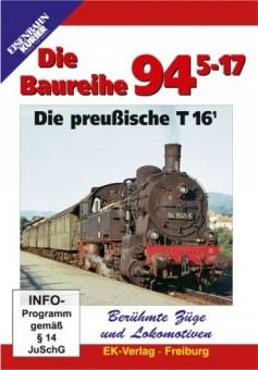 EK-Verlag 8260 Die Baureihe 94.5-17