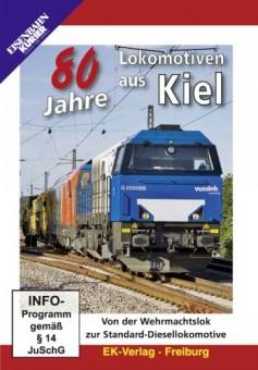 EK-Verlag 8266 80 Jahre Lokomotiven aus Kiel