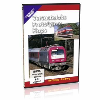 EK-Verlag 8267 Versuchsloks, Prototypen, Flops