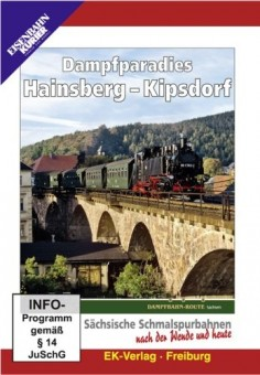 EK-Verlag 8274 Dampfparadies Hainsberg - Kipsdorf