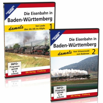 EK-Verlag 8357 Die Eisenbahn in Baden-Württemberg