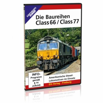 EK-Verlag 8454 DVD - Die Baureihen Class 66 / Class 77