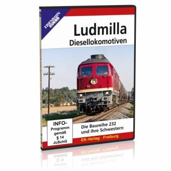 EK-Verlag 8455 DVD - Ludmilla-Diesellokomotiven