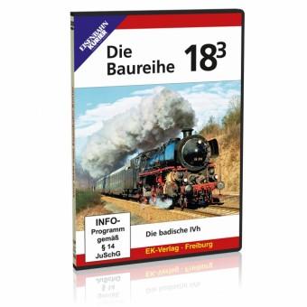 EK-Verlag 8457 DVD - Die Baureihe 18.3
