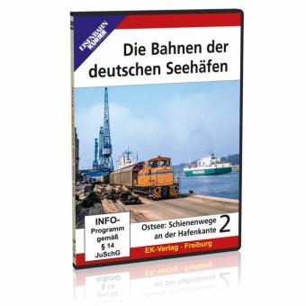 EK-Verlag 8471 DVD-Die Bahnen der deutschen Seehäfen 2