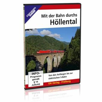 EK-Verlag 8490 DVD - Mit der Bahn durchs Höllental