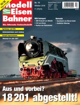 MEB 1018 Modell Eisen Bahner Oktober 2018