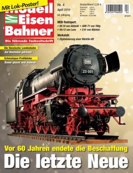 MEB 419 Modell Eisen Bahner April 2019