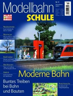 MEB 920013 Modellbahn Schule 13- Moderne Bahn