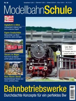 MEB 920036 Modellbahn Schule 36 - Bahnbetriebswerke