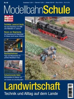 MEB 920040 Modellbahn Schule 40 - Landwirtschaft