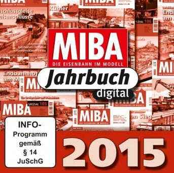 MIBA 84171 MIBA Jahrbuch 2015