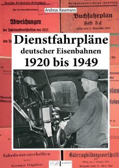 VGB 581730 Dienstfahrpläne deutscher Eisenbahnen