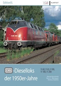 VGB 601701 DB-Dieselloks der 1950er-Jahre