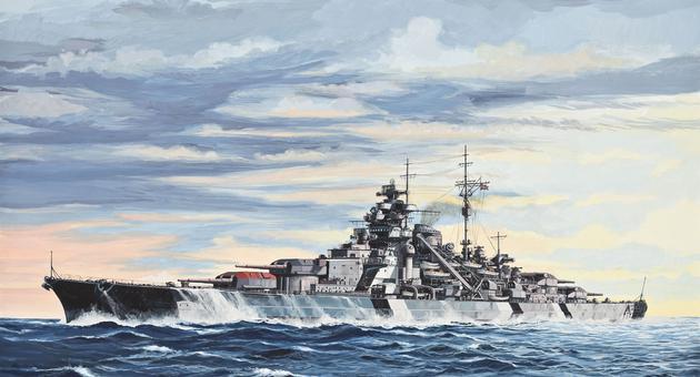 Bilderesultat for Schlachtschiff bismarck