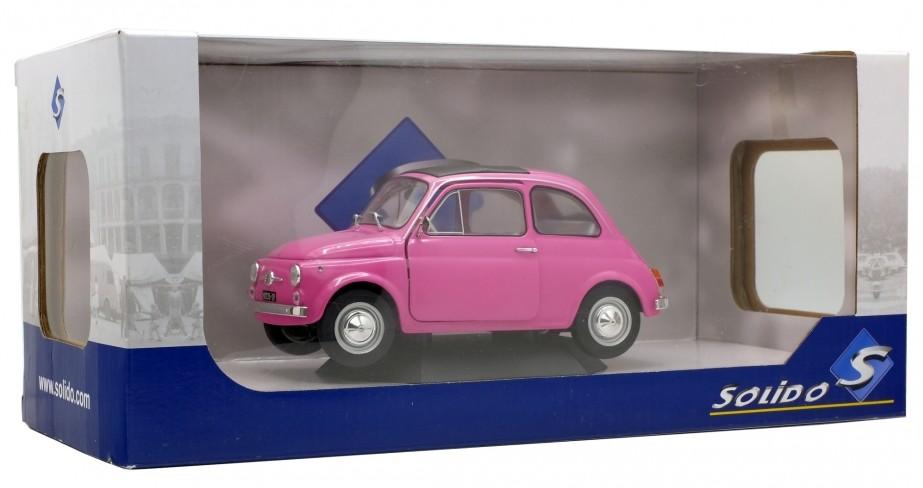 Solido 1:18 Fiat 500 F pink 1969 421184540